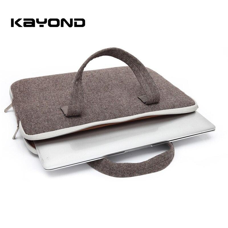 Kayond Nylon Business Laptop Sleeve Bag Bolso a prueba de arañazos - Accesorios para laptop - foto 3
