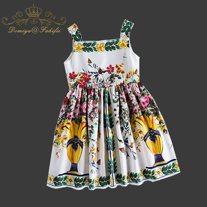 Costumes for Children Clothes Kid Clothing 2018 Brand Princess Flower Girl Dress Brand Summer Robe Princesse Fille Kids Dresses girls summer dress kids clothes 2017 brand baby girl dress with flower robe fille princess dress children clothing