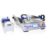 Настольный SMT выбрать и разместить SMT машина 2 головки ZB3245T для сборки линии