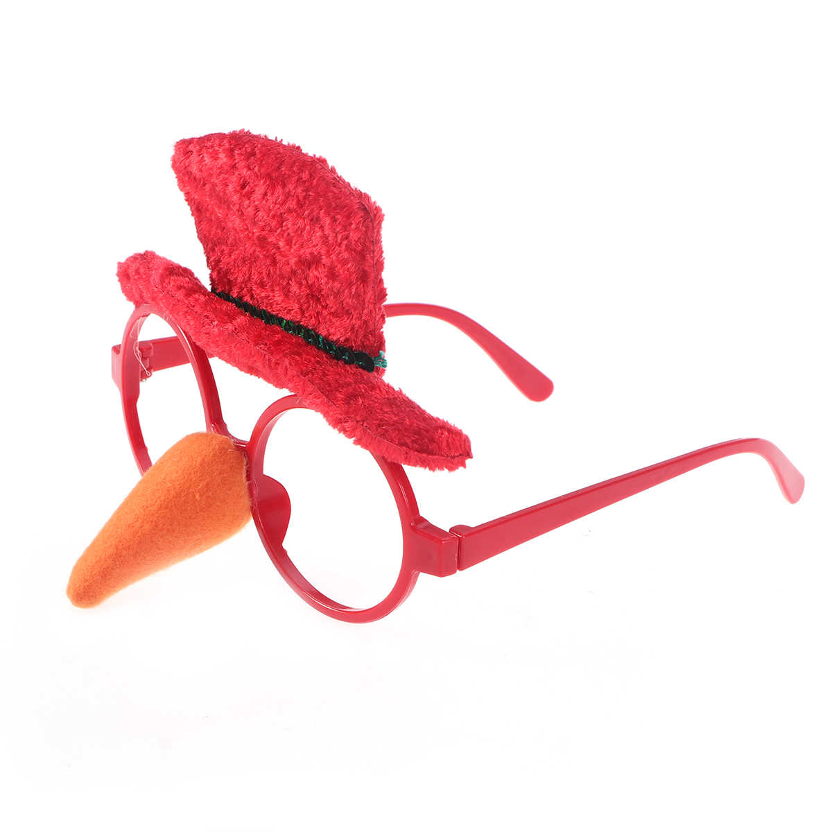 Christmas Fancy Dress Funny.Christmas Fancy Dress Party Funny Glasses Frame Sunglasses Novelty Costume Ornaments Decoration Gifts Glasses Without Lenses