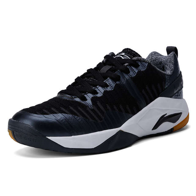 cf971dc446cd8 Li Ning Men GLORY Daily KNIT Badminton Training Shoes TUFF OS Durable  Sneakers LiNing Wearable Sport Shoes AYTM075 XYY077-in Badminton Shoes from  Sports ...