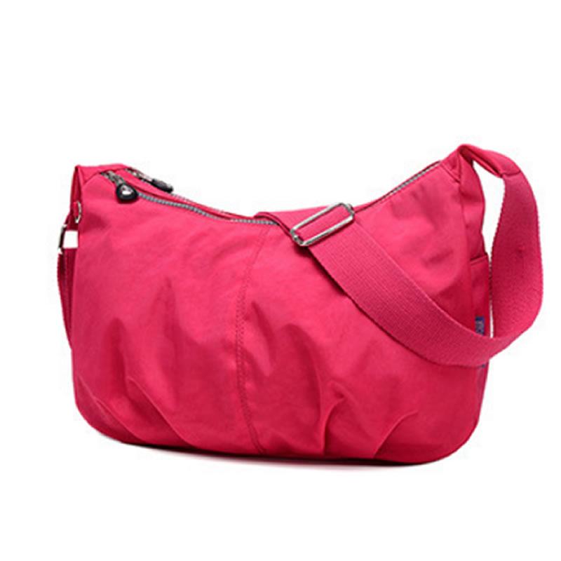 Jinqiaoer mujeres impermeables bolsas de nueva casual mujer de nylon bolsa de me