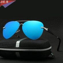 Polarized Mirror Sun Glasses Classic Brand Designer Sunglasses Men Driving Eyewear Pilot Sunglasses