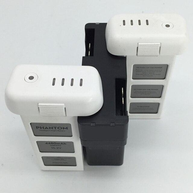 4 em 1 hub de carregamento multi para dji fantasma 3 zangão vôo bateria carregador inteligente adaptador rápido paralelo carga acessório