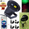 Outdoor LED Stage Light IP65 Waterproof IR Remote Control Show Red Green Laser Party Landscape Lights