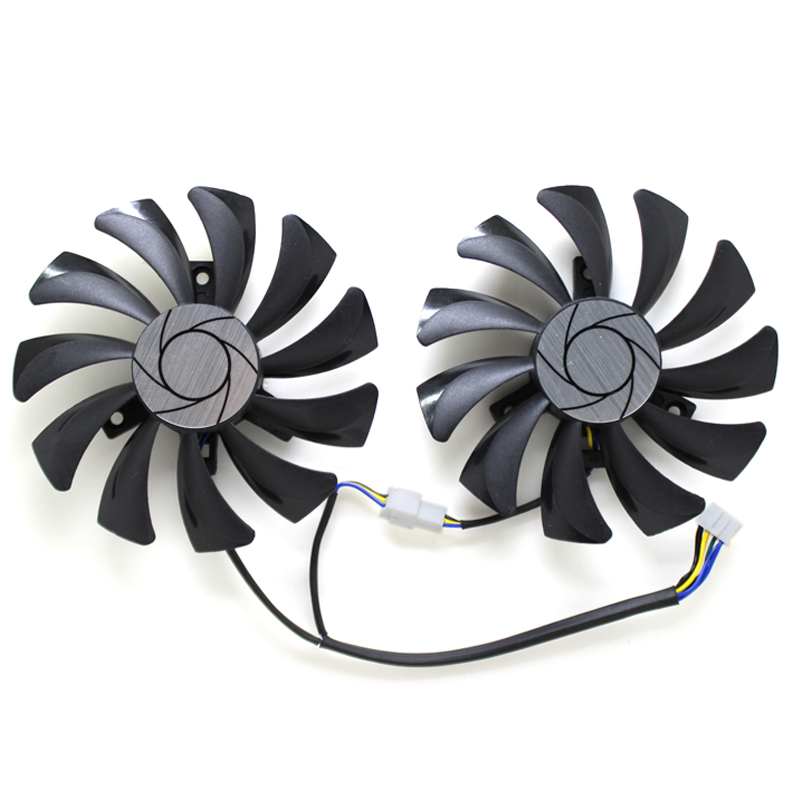 New HA9010H12F-Z Graphics Card Cooler Fan For MSI GeForce GTX 1060 Hurricane 6G GDDR GTX 1050 Hurricane 85mm Cooling fan image