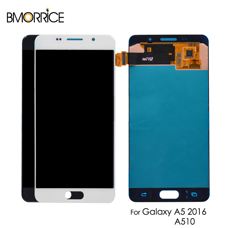 AMOLED For Samsung Galaxy A5 2016 A510 A510F A510M LCD Display Touch Screen Digitizer Super OLED Assembly ReplacementAMOLED For Samsung Galaxy A5 2016 A510 A510F A510M LCD Display Touch Screen Digitizer Super OLED Assembly Replacement