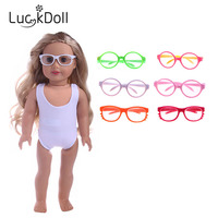 Luckdoll Various Sunglasses for 18 Inch American Dolls, Children's Best Holiday Gifts