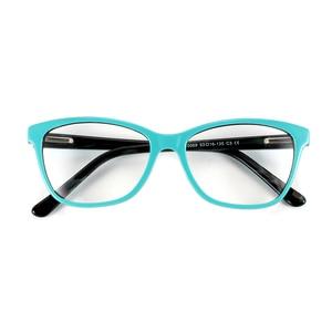 Image 2 - Высококачественная оправа для очков из ацетата, дизайнерская брендовая прозрачная оправа для очков при близорукости, оправа для очков в народном стиле