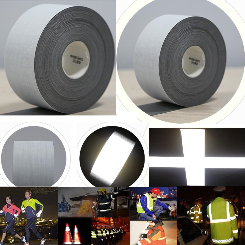100cm*140cm High Ligh Reflective T/C Warning Fabric Reflective Tape Garment Accessories Sewing For Clothing