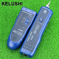 KELUSHI wholesale 1PCS 3KM SL601 Network Wire Cable Tracker Checker RJ45 RJ11 Network Tester in retail package