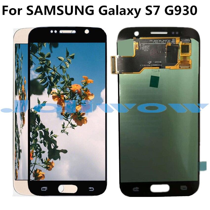 Oled LCD G930 pour écran LCD Samsung Galaxy S7 avec remplacement de l'assemblage de l'écran tactile pour Samsung S7 G930 G930F LCD