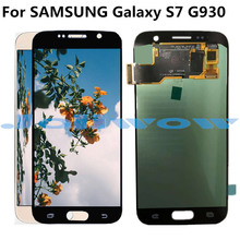 oled LCD G930 For Samsung Galaxy S7 LCD Display with Touch Screen  Assembly Replacement For Samsung S7 G930 G930F LCD недорго, оригинальная цена