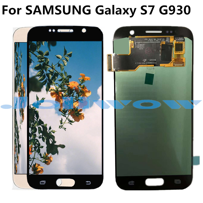 oled LCD G930 For <font><b>Samsung</b></font> <font><b>Galaxy</b></font> <font><b>S7</b></font> LCD <font><b>Display</b></font> with Touch Screen <font><b>Assembly</b></font> Replacement For <font><b>Samsung</b></font> <font><b>S7</b></font> G930 G930F LCD image