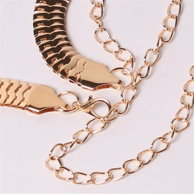 Women\'s Lady Fashion Metal Chain Pearl Style Belt Body Chain  Belts For Women Dresses Waist Belt Women Slim 40AG305