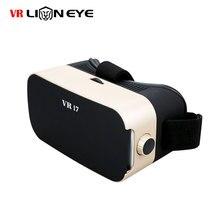 """LionEye VRกล่องพรีเมี่ยมทองProfessional Editionคู่-นูนป้องกันแสงสีฟ้าเลนส์ความจริงเสมือนแว่นตา3Dสำหรับ4.7-6.0 """"โทรศัพท์"""