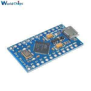 Image 5 - 5PCS USB ATmega32U4 פרו מיקרו 5V 16MHz מודול עבור Arduino ATMega 32U4 בקר פרו מיקרו להחליף פרו מיני עם סיכות