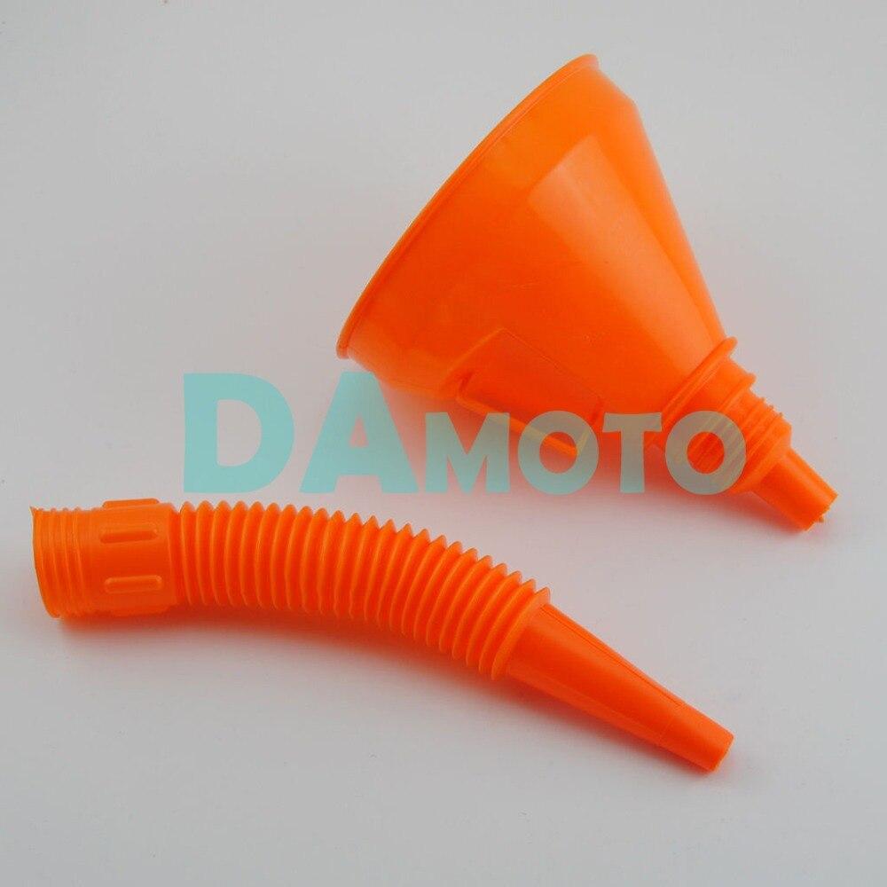 Entonnoir Entonnoir Flexible Pour Essence Diesel Huile Couleur Plastique Entonnoir