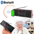L-288AMBT Super Bass fone de ouvido Estéreo de Som HD Mini Sem Fio Bluetooth Speaker com MP3 Player de Música rádio AM FM Suporte Rádio USB TF