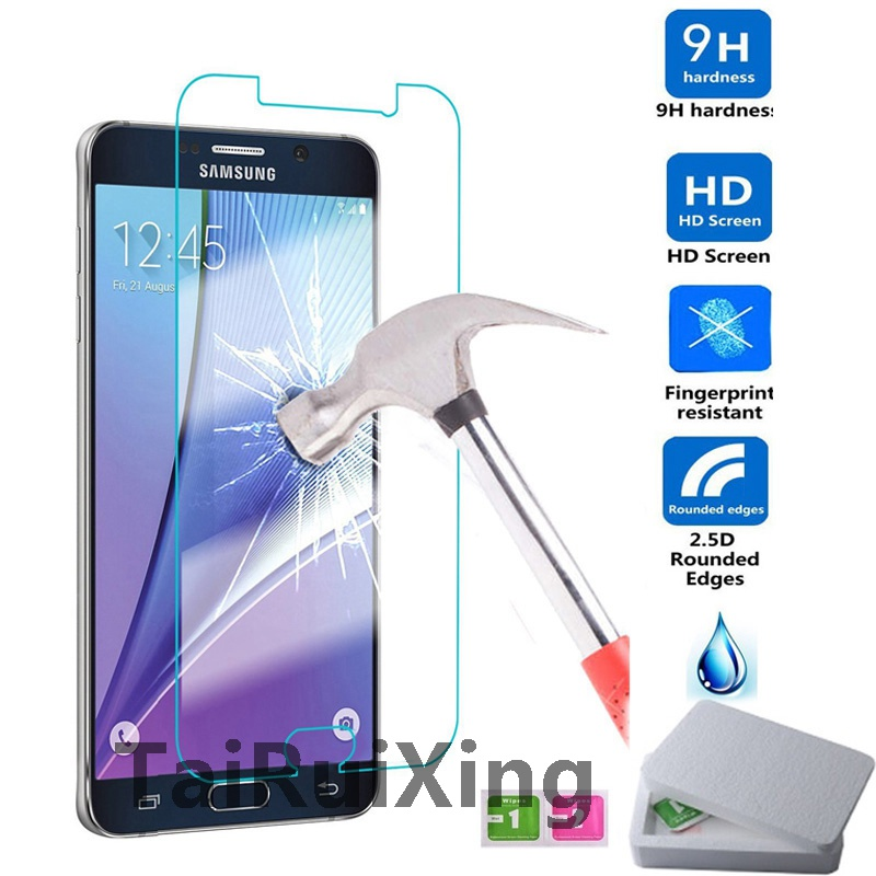 Able Tempered Glass Screen Protector For Samsung Galaxy S6 S5 S4 S3 Mini A3 A5 A7 A8 J1 J3 J5 J7 2016 Grand Prime Protective Film Cellphones & Telecommunications