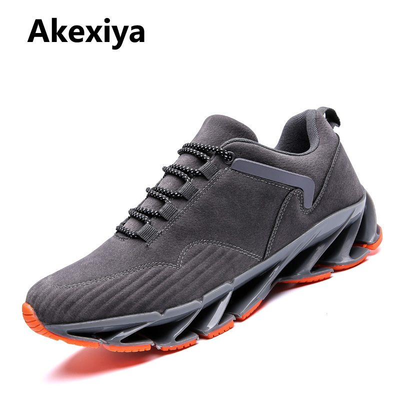 Summer Super Cool Breathable Running Shoes Men Sneakers Bounce Outdoor Sport Shoes Professional Brand Training Shoes