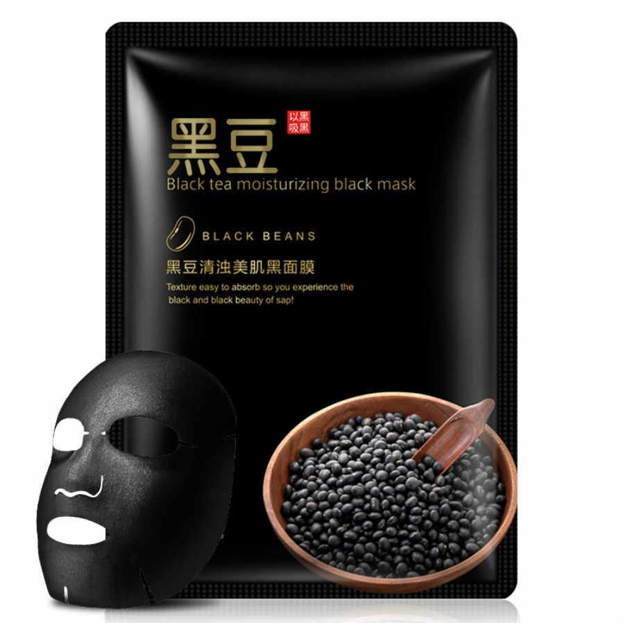 Nouveau Menthol Cool et hydratant masque soins de la peau plante masque Facial hydratant contrôleur points noirs dissolvant enveloppé masque soins du visage