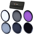 37mm UV CPL FLD ND2 ND4 ND8 ND Neutral Density Ultraviolet Lens Filter Kit For Olympus Panasonic Cleaning Pen