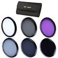 37mm uv cpl fld nd2 nd4 nd8 densidade neutra nd ultravioleta caneta de limpeza kit de filtro de lente para olympus panasonic