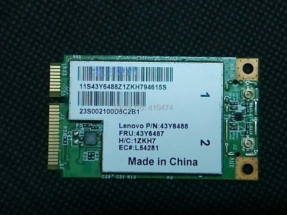 SSEA New BroadCom BCM4312 BCM94312MCG MINI PCI-E 802.11b/g WIFI Wireless Card for Lenovo 3000 N500 G530 s9 s10e FRU 43y6487(China)