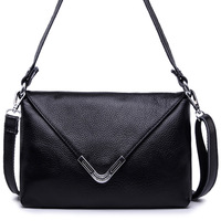 2014 New First Layer Genuine Cowhide Leather Women S Messenger Bags Small One Cross Body Women
