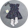 new 2016 Summer girl dress Diamond pattern baby girls dress tutu Princess Children clothing newborn baby dress girl clothes