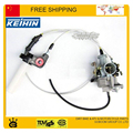 KEIHIN 30mm carburetor with accelerating pump accelerator 150cc 200cc 250cc carburetor dual throttle cable visual throttle grip