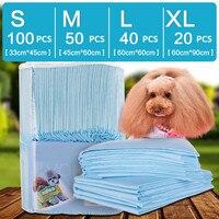 100 Pcs Bag Super Absorbent Cat And Dog Urine Pad Disposable Pet Dog Diaper Antibacterial Deodorant