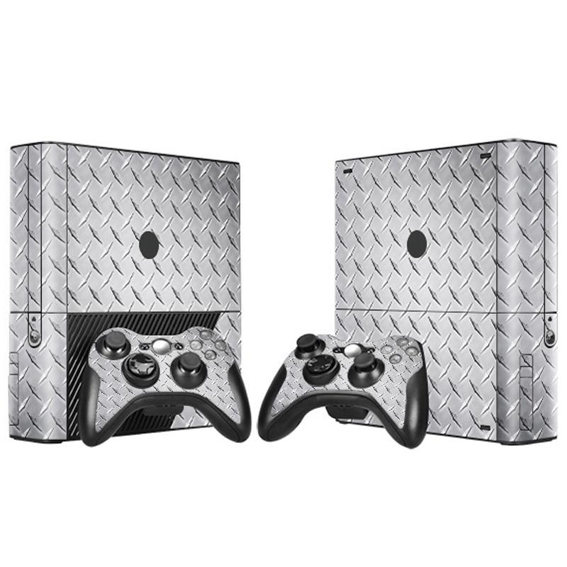 ᐊHierro diseño skin sticker protector para Microsoft Xbox 360 e y 2 ...
