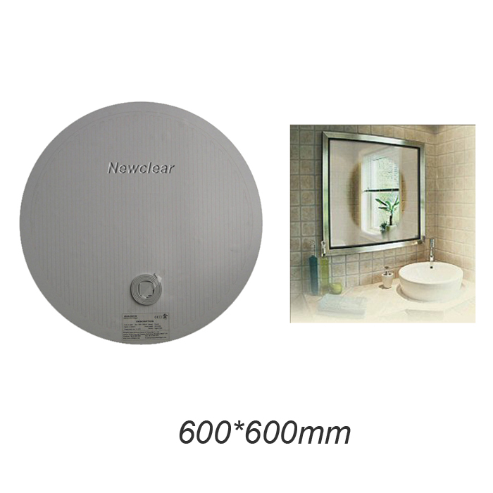 Aliexpress Buy New Bathroom Mirror Defogger Film Electric Heating Wall Sticker Demister Pad Non Fogging Heater Membrane From
