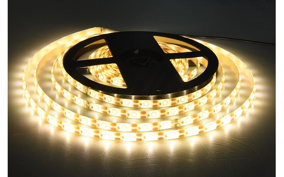 2835 SMD RGB USB charger LED Strip light DC 5V USB Cable LED Light lamp Flexible Tape 1M 2M 3M 4M 5M RF IR RGB Remote control (3)