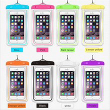 3.5 to 6.0 Inch Swimming Waterproof Bag Mobile Waterproof Case For Phone Diving Case Phone Dry Bag Storage Drifting Sport Bags цена 2017