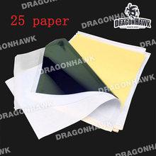 Tattoo Stencil Transfer Carbon Paper Top 25 Pcs A 4 Size Tattoo Supply WS011x25