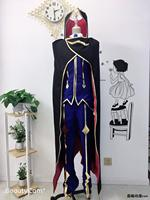2019 New Code Geass R2 Zero Cosplay Costumes Party Fashion Bule Uniform Suit Full Set For Unisex S XXL Or Custom Make Any Size