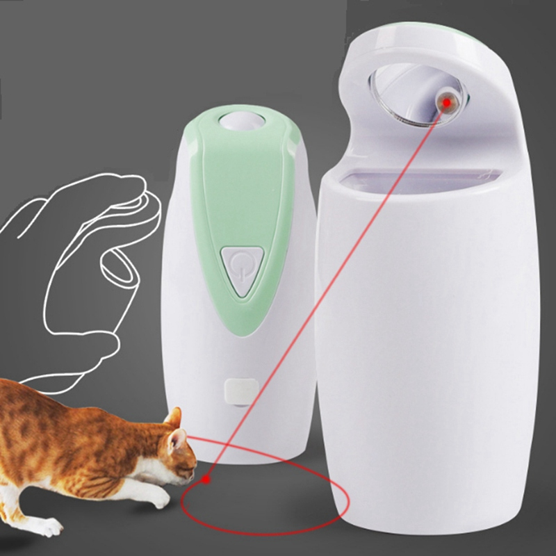 Pet Cat Toy USB  Electric Interactive Laser Toy Automatic Rotate Tease Cat Toy Dog Cats Intelligence Trainning Gato Juguetes