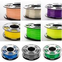 3D Printer Material Plastic TPU PETG Nylon 3D Printer Filament 1kg PLA Filament 1.75mm per Roll for Plastic 3D Printer Filament