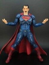 Square Enix Play Arts Kai Batman v Superman Dawn of Justice Super Man Action Figure High Quality Collection Original Version