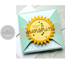 Sunshine Metal Cutting Dies for Scrapbooking and Cards Making Paper Craft New 2019