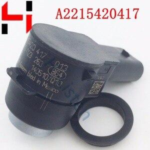 Image 2 - (4 pcs) لصف تحكم المعونة مجسات ل GL320 GL350 ML320 ML350 C320 SL500 E R S الدرجة A2215420417 2215420417