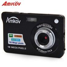 Amkov AMK CDC3 Professional Cameras 2 7 TFT 8mp Aluminum plastic Support Multi language Mini font