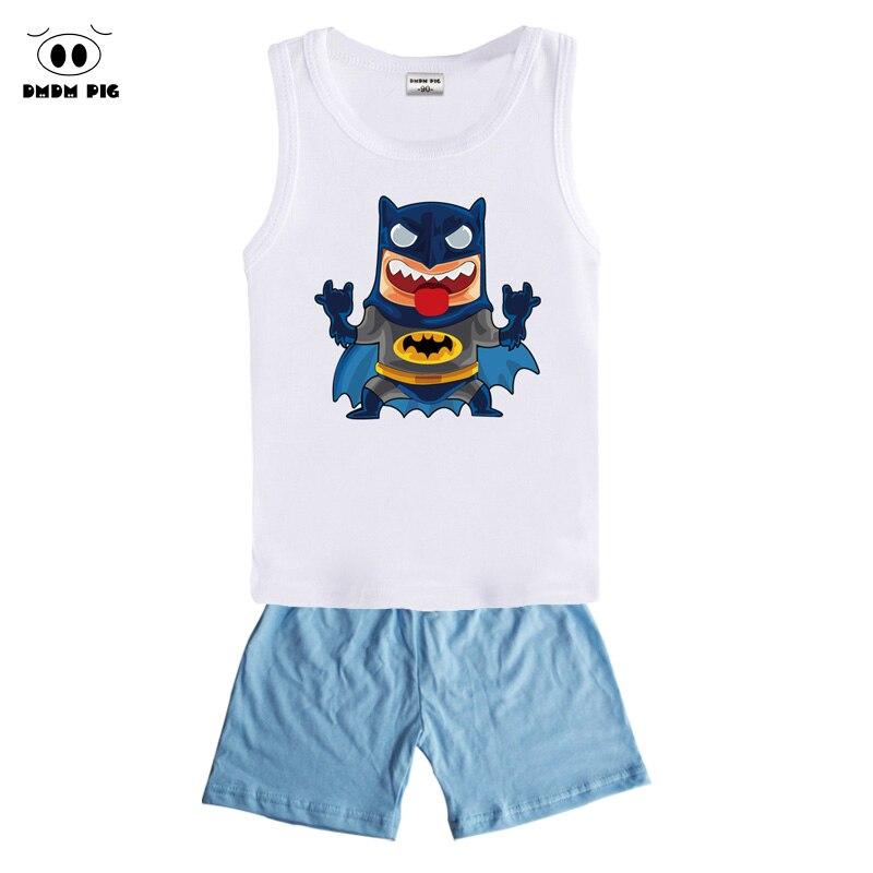 DMDM PIG clothes summer boys set sports suits for children
