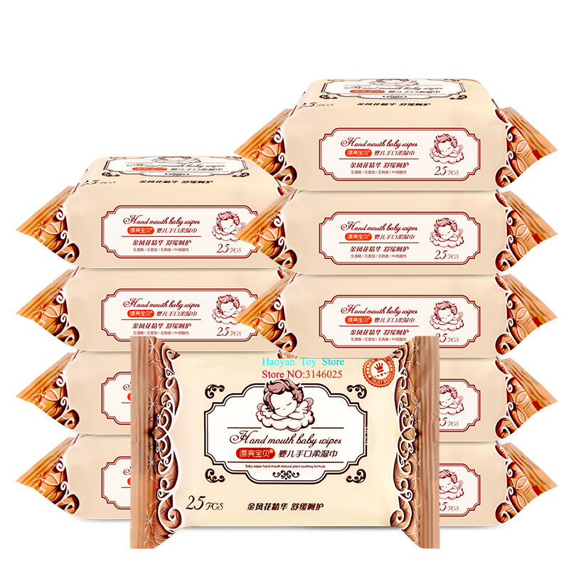 5 Pack (25pcs/ Pack) Combat Wipes Active Biodegradable Cleansing and Refreshing Wipes for Outdoors and Camping Baby Skin Care 2