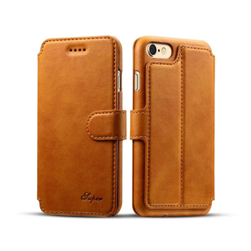 iphone wallet case new arrival luxury leather wallet phone for iphone 7 12460