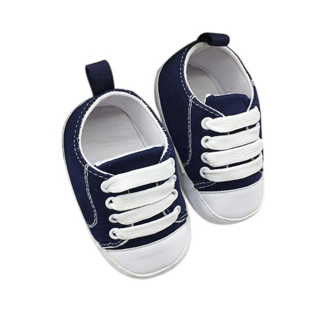 baby shoes 2017 Toddler Shoes Anti-Slip Soft Solid Canvas Shoesbaby moccasins bebek ayakkabi l10192