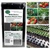 Filme de vegetais perfurado de 10m * 95cm, película agrícola para jardim doméstico, plantas, folhas pretas de plástico perfurado membrana